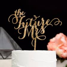mrs mrs cake topper the future mrs cake topper z create design