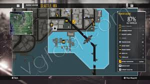 Map Queen Anne Seattle by Infamous Second Son Districts Guide Vgfaq
