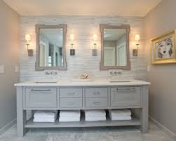 white marble countertops bathroom
