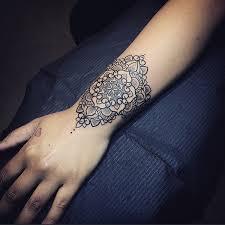 pretty mandala wrist tattoo best tattoo design ideas tattoo