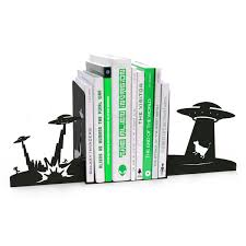 Dragon Bookends Alien Invasion Bookends The Green Head