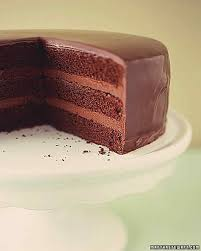 chocolate ganache cake decoration how to make ganache martha stewart
