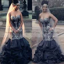 black wedding dress new 2017 black wedding gowns sweetheart the shoulder lace