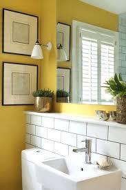 Yellow Bathroom Decorating Ideas Black And Yellow Bathroom Ohfudge Info