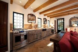 Black Rustic Kitchen Cabinets Rustic Kitchen Cabinets Kitchen Farmhouse With Board Floor Board