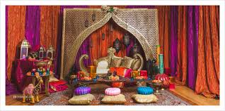 moroccan inspired sangeet decor partyland md wedding photographer