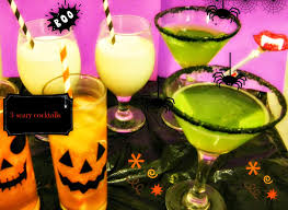 cooking the recipe halloween party drinks booooze