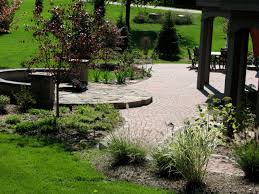 Paver Patios With Fire Pit by The Best Of Outdoor Living Paver Patio Fire Pit U0026 Plantings