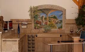 trompe l oeil cuisine alanpeo l mural depuis 1996 coté maison intérieur