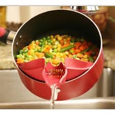 cuisine de ouf 4 ustensiles de cuisines pour verser et égoutter facilement nifty