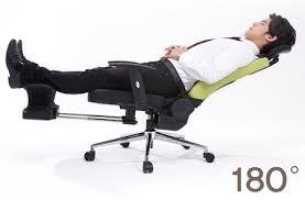 Reclining Office Chairs Innochair Top Ergonomic Office Chair Grey Sit Stretch Sleep Nap