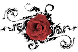 heart dragon rose tattoo designs photo 3 photo pictures and