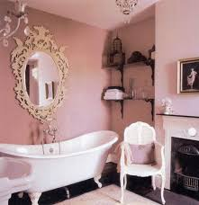 Dusty Pink Bedroom - pink bathroom apartment therapy