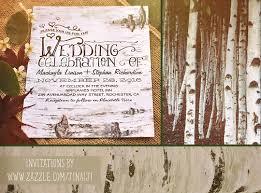 rustic wedding invites birch bark rustic wedding invites need wedding idea