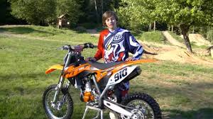 85cc motocross bike carson brown tests the ktm 85 sxs for motocross action magazine