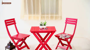 red kitchen table and chairs set table and chair sets myrick balcony table and chair set red