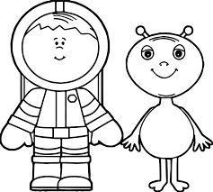 astronaut coloring sheet virtren com