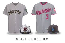 mlb unveils uniforms including s day and s day