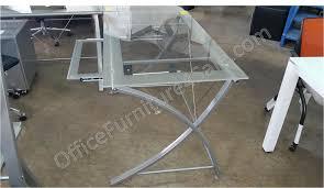 Clear Corner Desk by Realspace Zentra Outlet Computer Desk 30