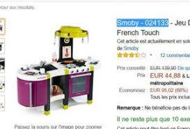 cuisine tefal touch soldes jouet 45 la grande cuisine smoby tefal touch