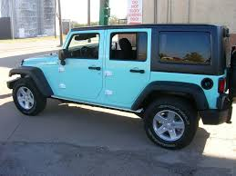 matte tiffany blue jeep blue jeep by alphagraffix in yukon ok click to view more photos