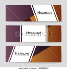 template white web banners diagonal elements imagem vetorial de