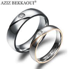 name wedding rings images 2018 wholesale couple rings engrave name wedding rings for women jpg