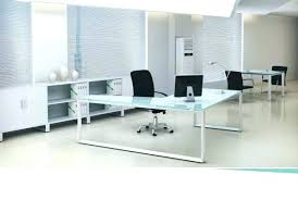 Office Desk Glass Top Glass Top Office Furniture Several Images On Modern Office