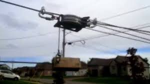 diy back yard zip line brake system youtube