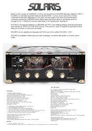 very popular se tube preamplifier from audiovalve germany