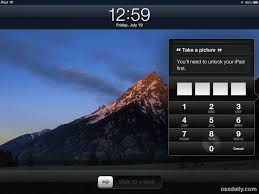 pattern lock screen for ipad quickly take pictures with ipad by accessing camera from the lock screen