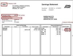 Payroll Statement Template by Pay Stub Template Free Word Pdf Excel Format Documents