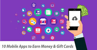 apps for gift cards 10 mobile apps to earn money in spare time best rewarding apps