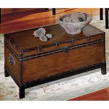 trunk style side table chest style coffee table antique decorations trunk for tables ideas