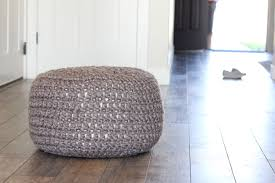 Crochet Ottoman Pattern Crocheted Floor Cushions Free Pattern Tutorial