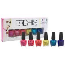opi nail lacquer brights collection mini kit 6 x 3 75 ml lazada ph