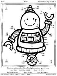 ideas double digit addition coloring worksheets format