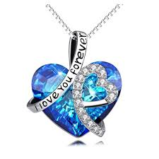 ebay necklace heart images 273 best the best birthday anniversary gift heart pendant for jpg