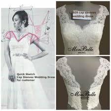 chagne wedding dresses evening dress custom changes mon bridal