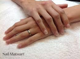 natural acrylic tips nail matsuri