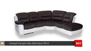 canape cuir angle but canapé d angle relax électrique but