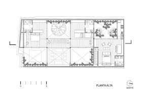 floorplan of a house a house with 4 courtyards includes floor plans