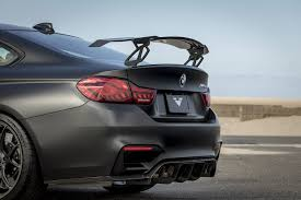 check out vorsteiner u0027s new rear wing for bmw m4 gts v bmw sg