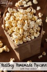 home made theater healthy homemade popcorn just like the theater with free video