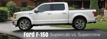 2002 ford f150 4 door f 150 supercab vs supercrew what s the difference