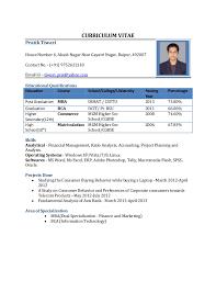 cv format for mca freshers pdf files job resume format pdf file resume format for freshers 1 638
