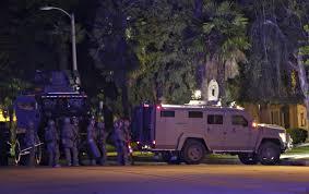 Redlands Zip Code Map by 14 Dead In San Bernardino Shooting Two Suspects Identified Pbs