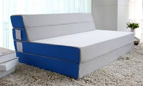Folding Sofa Bed Mattress Merax Tri Fold Foam Folding Mattress And Sofa Bed For