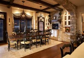 Interior Stone Arches Lake Side Luxury Traditional Dining Room Toronto By Parkyn