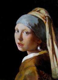 painting the girl with the pearl earring girl with the pearl earring copy painting by katrie bonanno